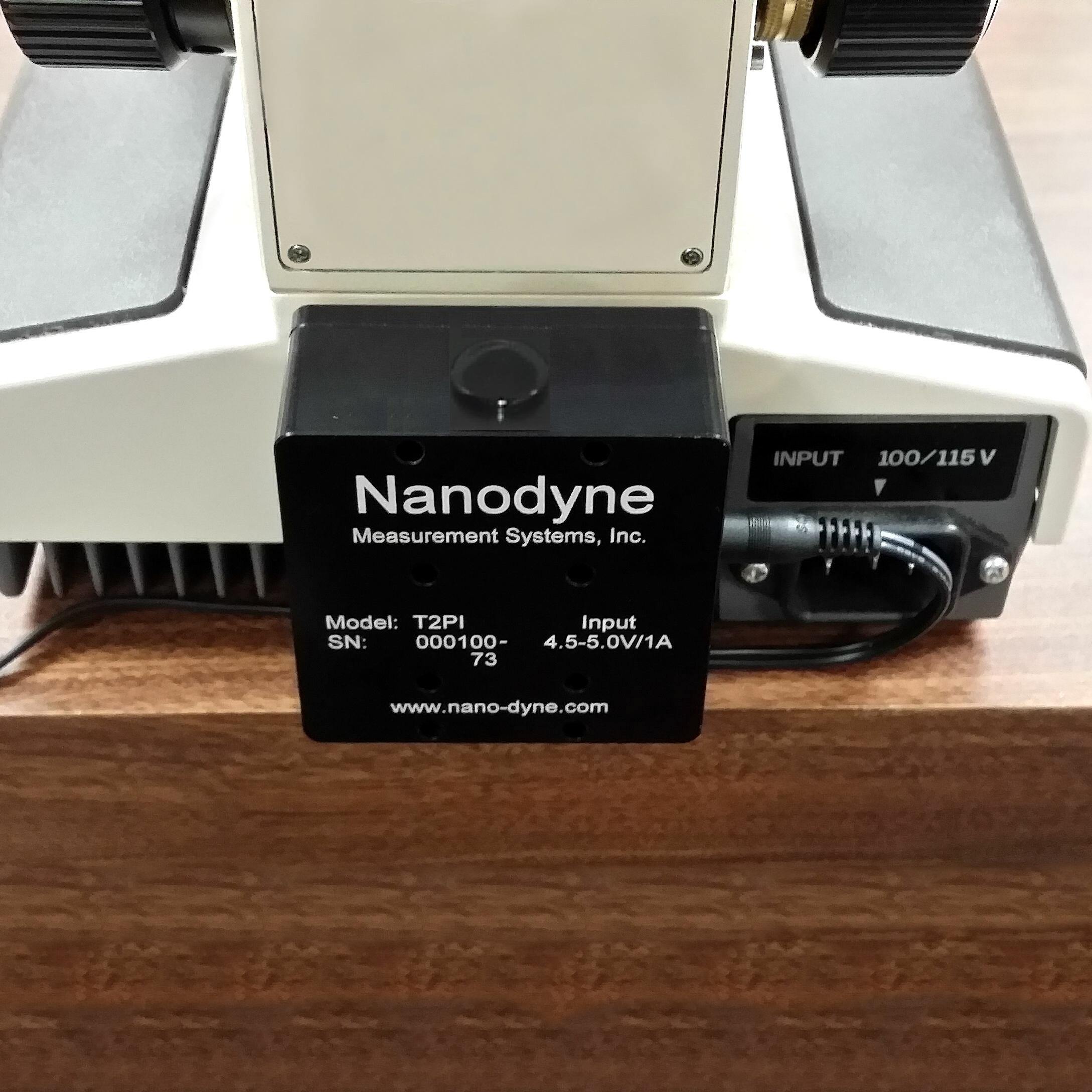 Olympus BH-2 Illuminator   Nanodyne Measurement Systems