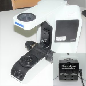 Olympus BX43 microscope with Nanodyne replacement illuminator
