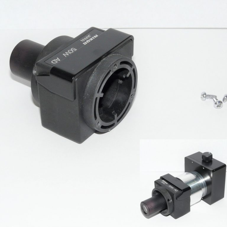 Nikon MM40 50W illuminator with Nanodyne replacement