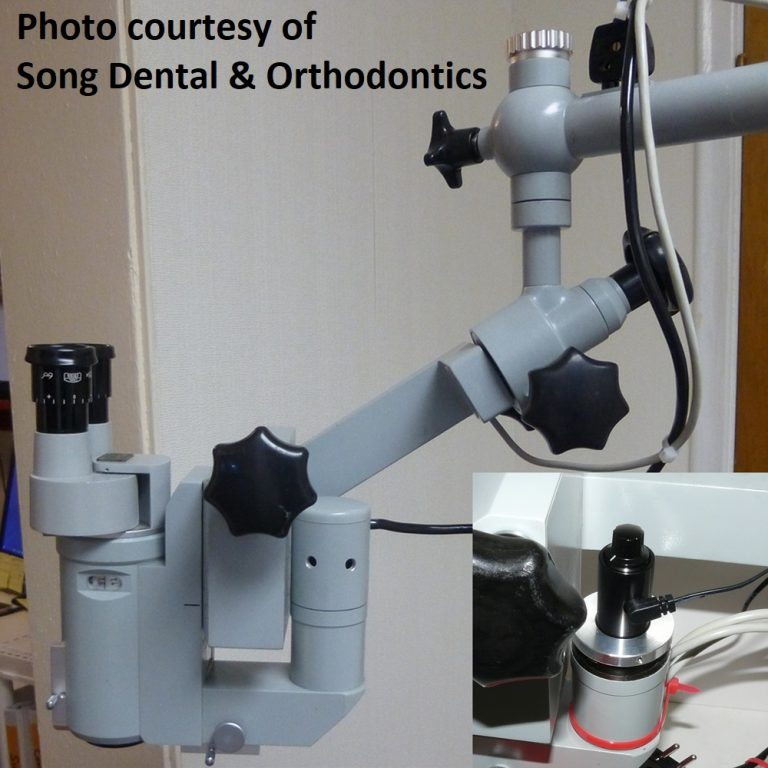 Zeiss OPMI-1 surgical microscope with Nanodyne replacement light
