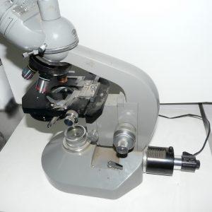 Olympus FH microscope with Nanodyne illuminator