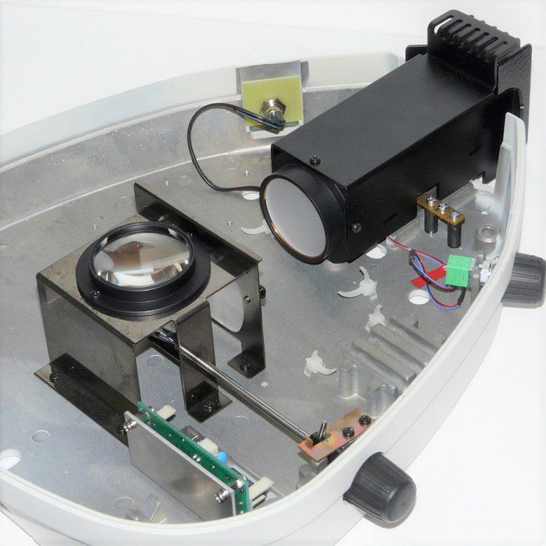 Nikon C-DSS diascopic base with Nanodyne illuminator upgrade